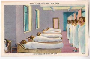 Ladies Bathing Dept, Hot Springs nat Park, Ark