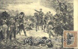 L'Arrivee de Blucher Waterloo, Belgium 1920 Stamp on front