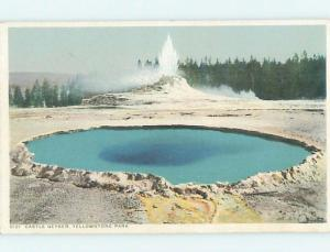 Unused Divided-Back YELLOWSTONE National Park Wyoming WY hk6667