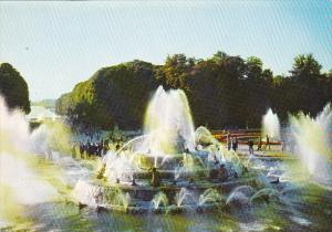 France Versailles Bassin de Latone Grandes Eaux