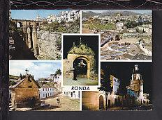 Multi View,Ronda,Spain Postcard BIN