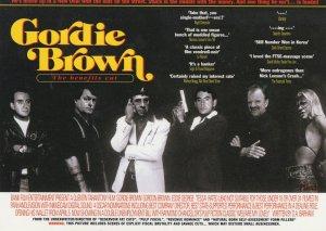 Jackie Brown Quentin Tarantino Punch Comic Spoof Postcard