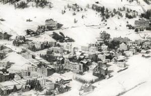 Switzerland Davos Dorf mit Englisch Viertel