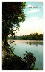 Early 1900s Feather River, Yuba County, CA Postcard *5N15