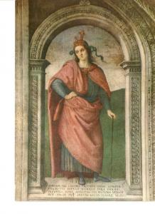 Postal 022070 : Cato - Fresco by the Perugino