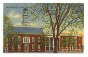 State House (Exterior), Dover, Delaware, 1930-1940s