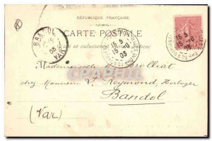 Old Postcard Aix en Provence Portal Cathedrale XV and S fa?ade of the Romanes...