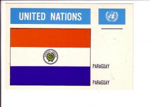 Paraguay, Flag, United Nations