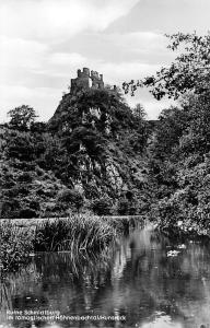 Ruine Schmidtburg im romantischen Hahnenbachtal Hunsrueck Castle Ruins