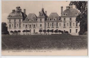 Cheverny, Le Chateau - La Facade Sud.