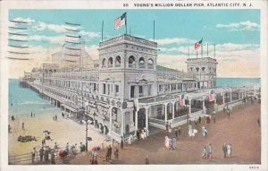 New Jersey Atlantic City Youngs Million Dollar Pier 1930