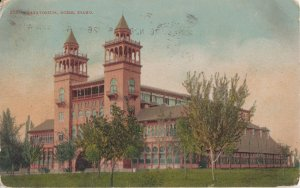 BOISE ID - NATATORIUM Building - 1909 view / 1934 demolished now NEW building