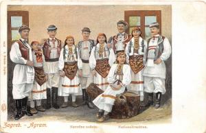 B9848 Croatia Zagreb Agram Narodne nosnie 1900