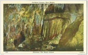 Carlsbad Cavern, New Mexico 1920s unused Postcard