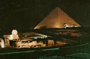 Pyramids and Sphinx,Giza,Egypt BIN