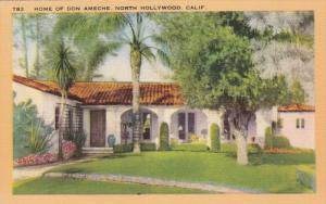 Home of Don Ameche, HOLLYWOOD, California, 20-30's