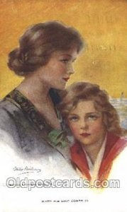 Artist Signed Philip Boileau, When his Ship comes in 1921