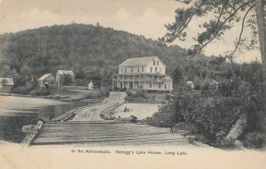 In the Adirondacks. Kellogg's Lake House, Long Lake , N.Y. , 1901-07