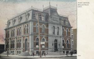 BELLEVILLE , Ontario, Canada, 1906 ; Post Office