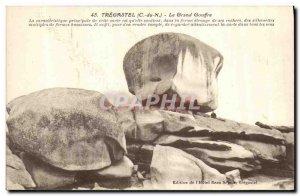 Old Postcard Tregastel Grand Chasm