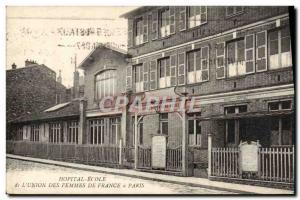 Postcard Old Hospital School of Women & # 39union de France Paris