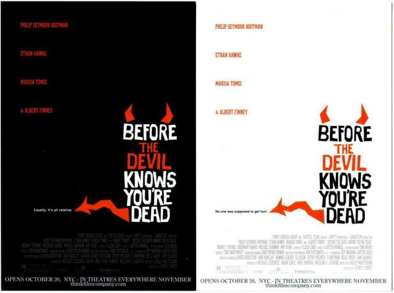 2 Postcards of Before the Devil Knows You're Dead Movie