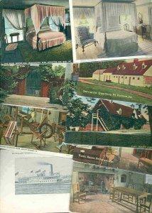 cpc109 postcard collection FIFTY Mt Vernon Virginia