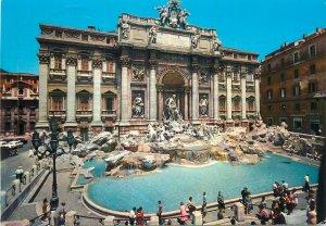 Postcard Italy Roma Fontana di Trevi