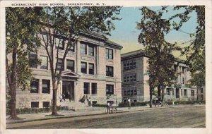 New York Schenectory Schenectady High School 1923