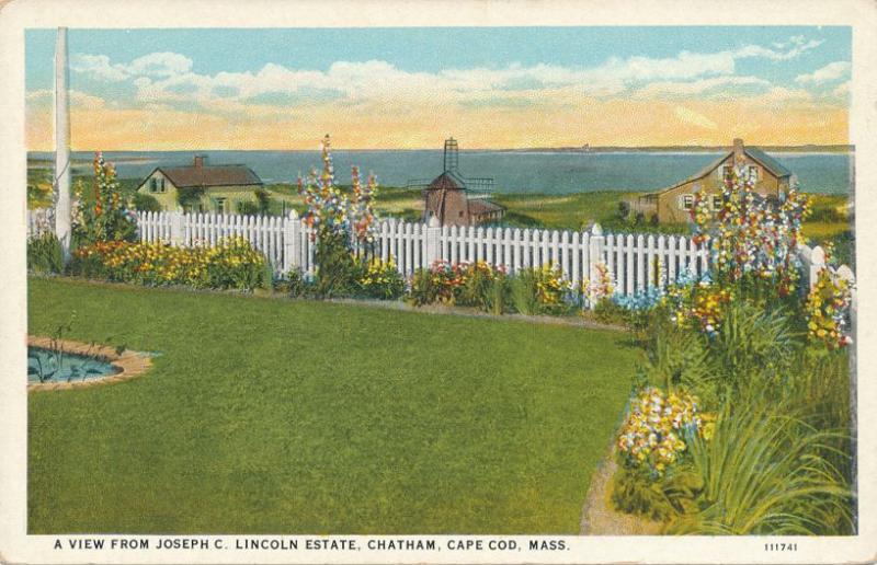 View from Joseph Lincoln Estate - Chatham MA, Cape Cod, Massachusetts - WB