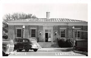E47/ Leland Mississippi Real Photo RPPC Postcard c50s Post Office Building