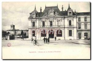 Postcard Old Bank Hotel Valencia Caisse d & # 39Epargne