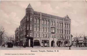 25417 NH, Nashua, Masonic Temple