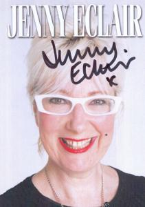 Jenny Eclair Official Genuine Hand Signed Photo