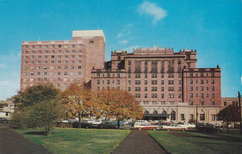 Exterior View, Classic Cars, Nova Scotian Hotel, A C.N.R. Hotel, Halifax, Nov...