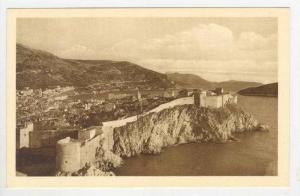 Bird's Eye View, Ragusa, Dubrovnik, Croatia, 1900-1910s