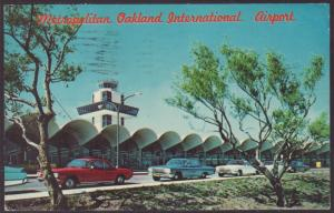 Metropolitan Oakland International Airport Postcard BIN