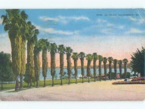 Linen PARK SCENE La Jolla - San Diego California CA c8869