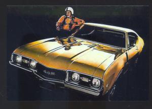 1968 OLDSMOBILE 442 CAR DEALER ADVERTISING POSTCARD '68 OLDS MUSCLE CAR