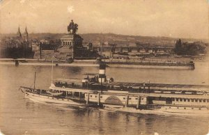 Koblenz Das Kaiser Wilhelm Steamship Germany US Army PM Antique Vintage Postcard