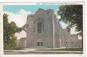 North Carolina Winston Salem Centennary Methodist Church 1946