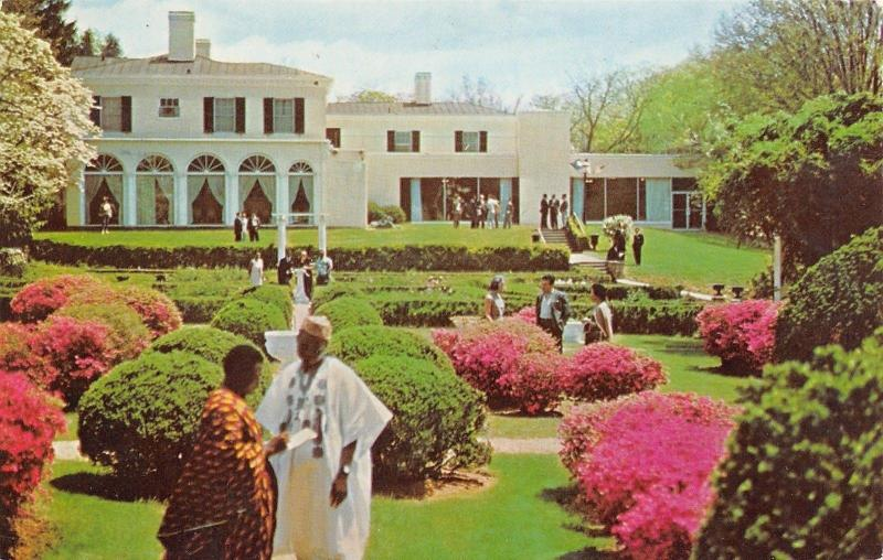 Waron Virginia The Airlie Conference Center 1967 Postcard
