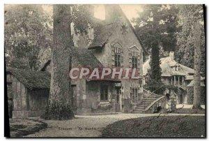 Old Postcard Versailles mill