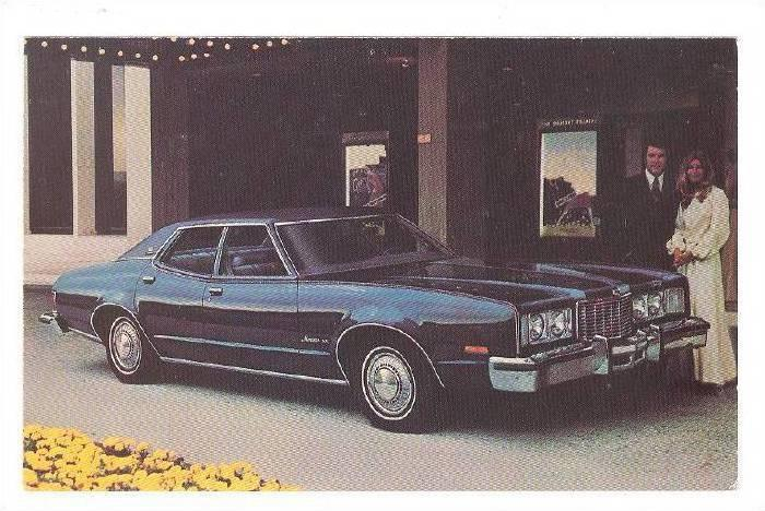 1976 Montego MX Brougham 4-Dr Sedan, Town & Country Motors, Sedali, Missouri,...