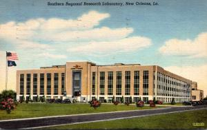 Louisiana New Orleans Southern Regional Research Laboratory 1943 Curteich