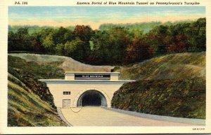 Pennsylvania Turnpike Eastern Portal Of The Blue Mountain Tunnel Curteich