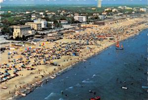 Italy Cervia e Milano Marittima Panorama dall'aereo Spiaggia Beach Strand