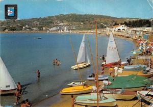 Spain Agaro (Costa Brava) La Playa The Beach Boats Bateaux