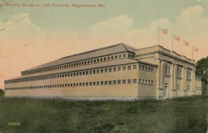 HAGERSTOWN , Maryland , 1913 ; Poultry House on fair grounds