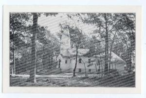 Martin's Pond Baptist Church N. Reading, Massachusetts MA Black & White Border
